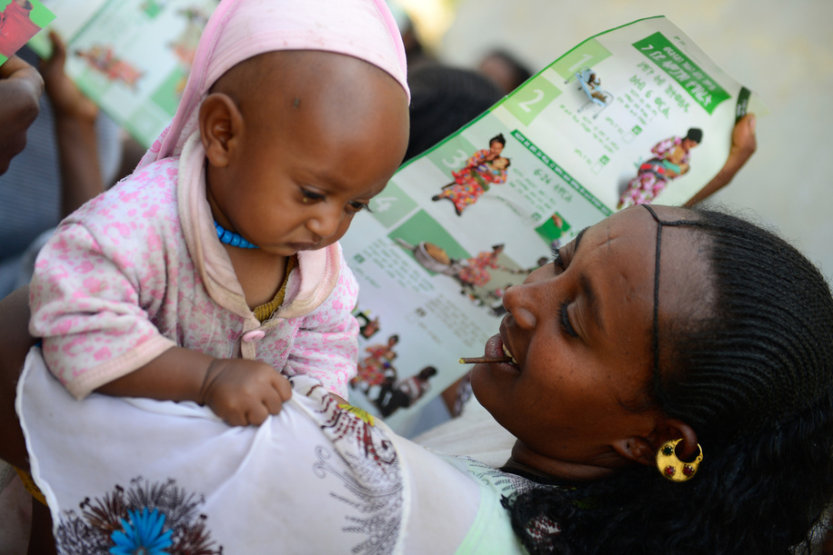 Maternal, newborn and child health in Ethiopia<br><br>For more information: <br><a target=